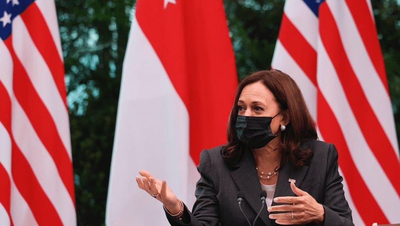 Harris: Çin'in, Güney Çin Denizi'nin büyük bir kısmı üzerinde baskı kurmaya çalıştığını biliyoruz