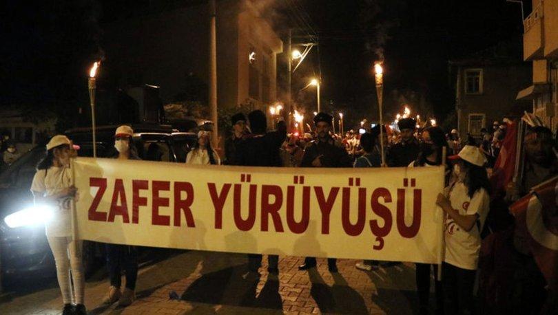 Büyük Taarruz'un 99'uncu yılında zafer için yürüdüler