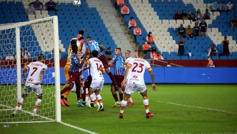 Roma: 3 - Trabzonspor:0 MAÇ SONUCU