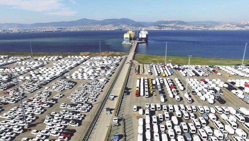 7 ayda 5,5 milyar dolarlık binek otomobil ihraç edildi