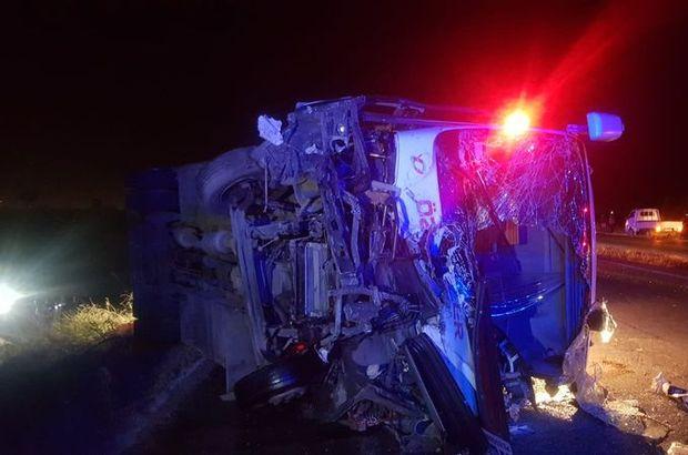 Manisa'da feci kaza: Ölü ve yaralılar var