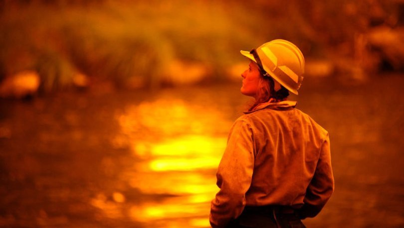 ABD orman yangınları ile mücadele ediyor - Son dakika haberleri