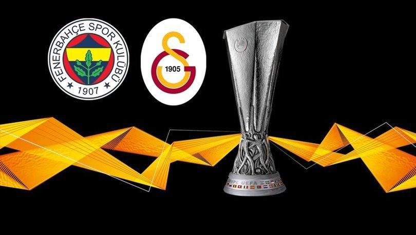 Galatasaray ve Fenerbahçenin UEFA Avrupa Ligindeki maç programı açıklandı