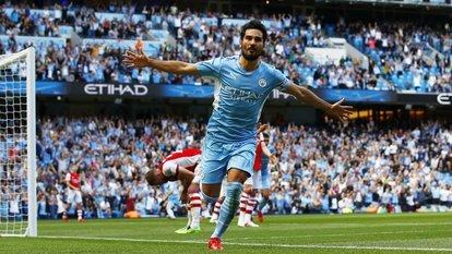 City, Arsenal'i dağıttı!