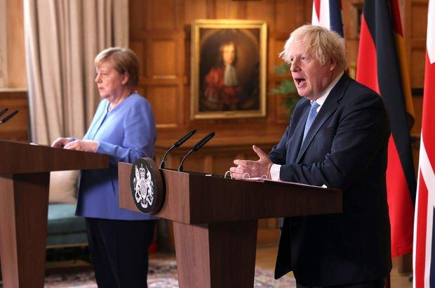 Merkel-Johnson Afganistan'daki güncel durumu görüştü