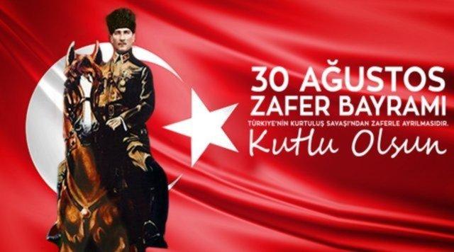 En güzel 30 Ağustos mesajları, sözleri 2021! Türk Bayrağı, Atatürk sözleri, resimli kısa mesajlar   30 Ağustos Zafer Bayramı kutlu olsun
