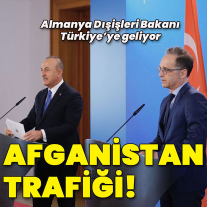 SON DAKİKA: Almanya Dışişleri Bakanı Heiko Maas Türkiye'ye geliyor: Ana gündem Afganistan!