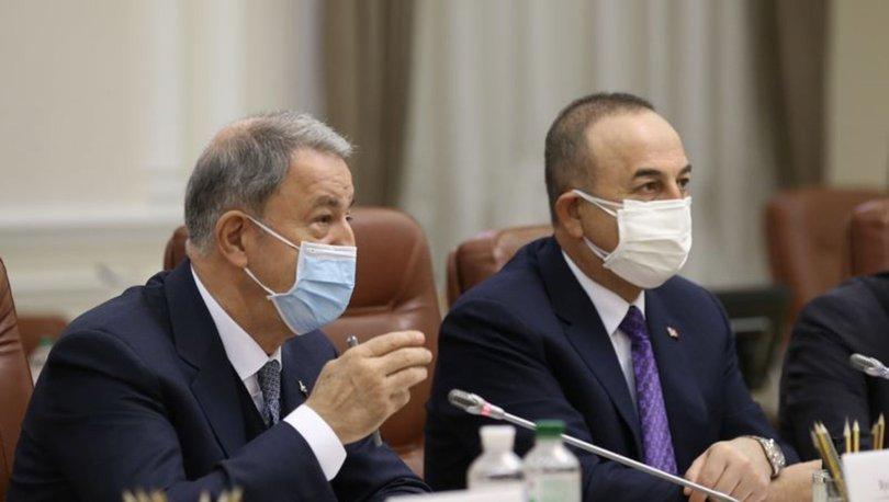 SON DAKİKA: Dışişleri Bakanı Çavuşoğlu ve Milli Savunma Akar Katarlı mevkidaşlarıyla görüştü!