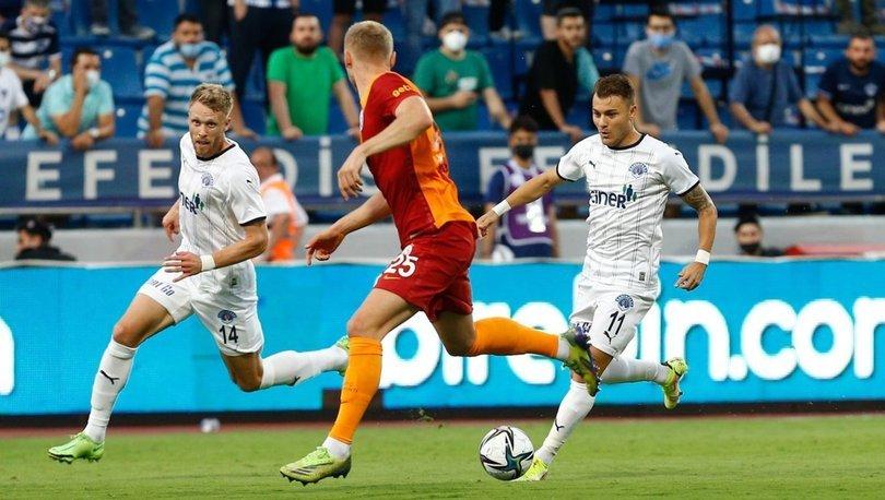 Kasımpaşa: 2 - Galatasaray: 2 MAÇ SONUCU