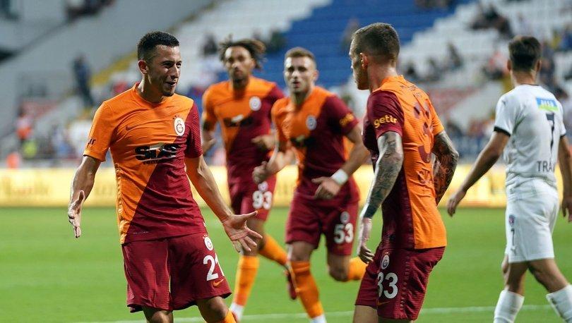 Olimpiu Morutan, Galatasaray kariyerine asistle başladı
