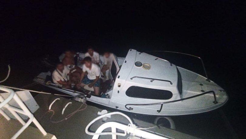 Bodrum'dan Yunanistan'a kaçarken yakalanan 6 FETÖ şüphelisi tutuklandı
