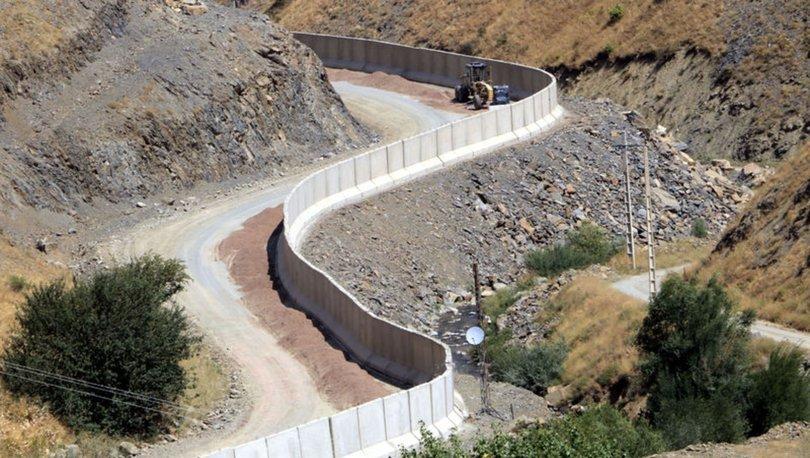 DUVAR! Son dakika: İran sınırına 43 kilometre beton duvar örüldü! - VİDEO HABER