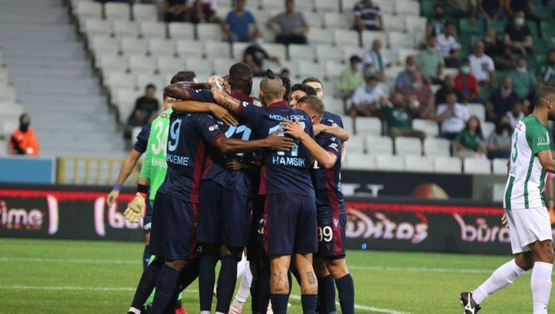 Trabzonspor fişi ilk yarıda çekiyor