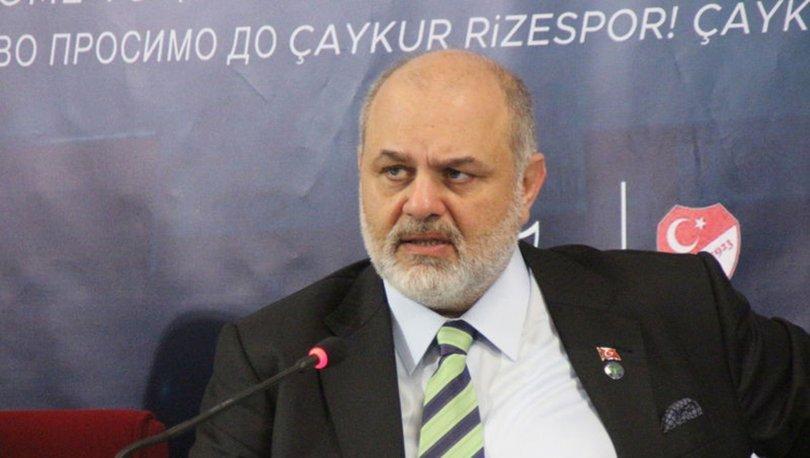 Çaykur Rizespor Başkanı Tahir Kıran'dan sert açıklamalar