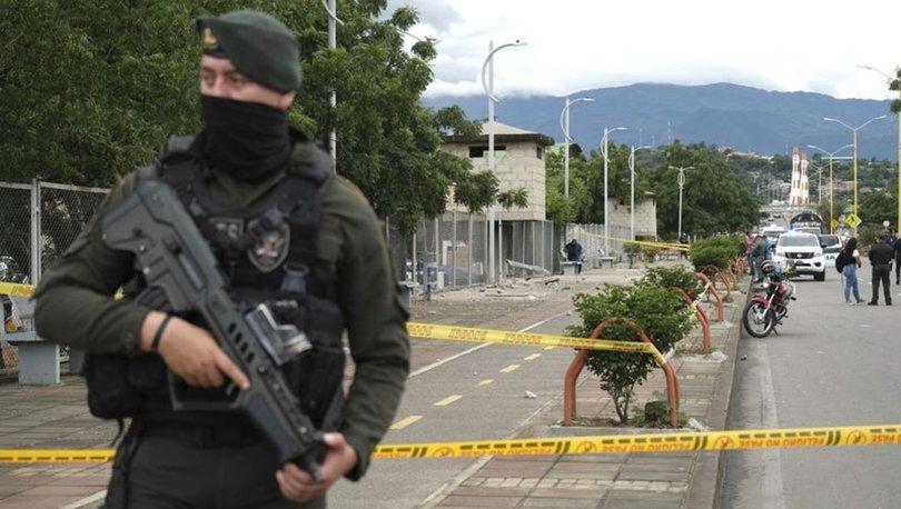 SON DAKİKA! Kolombiya'da polis merkezine bombalı saldırı: 14 yaralı