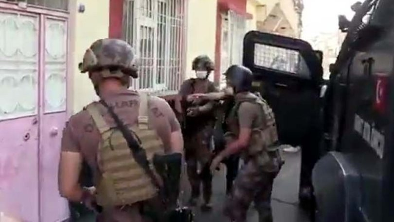 Gaziantep'te uyuşturucuya 16 tutuklama