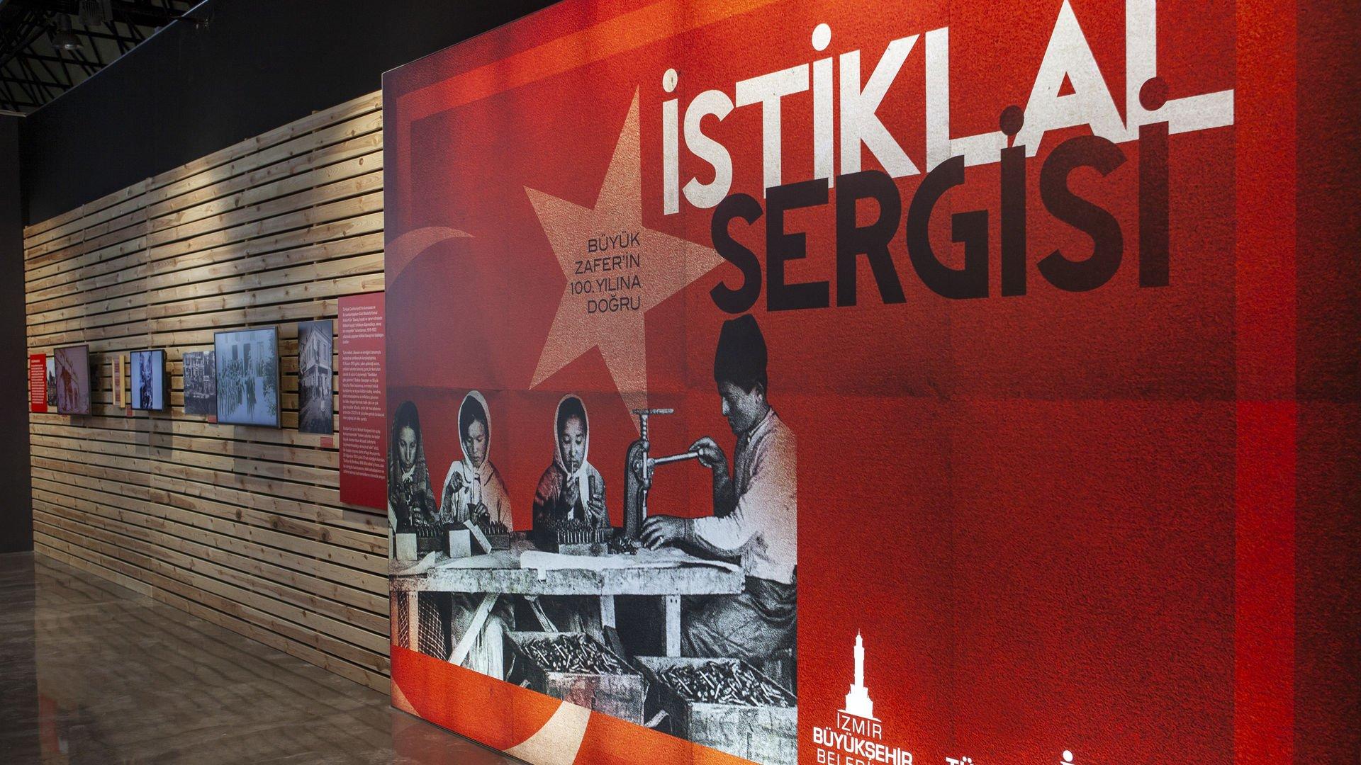 """""""Büyük Zafer'in 100. Yılına Doğru İstiklal Sergisi"""" İzmir'de"""