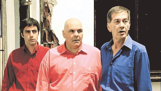 Ferhan Şensoy, 'Pardon' filminde Rasim Öztekin ve Ali Çatalbaş ile birlikte rol almıştı