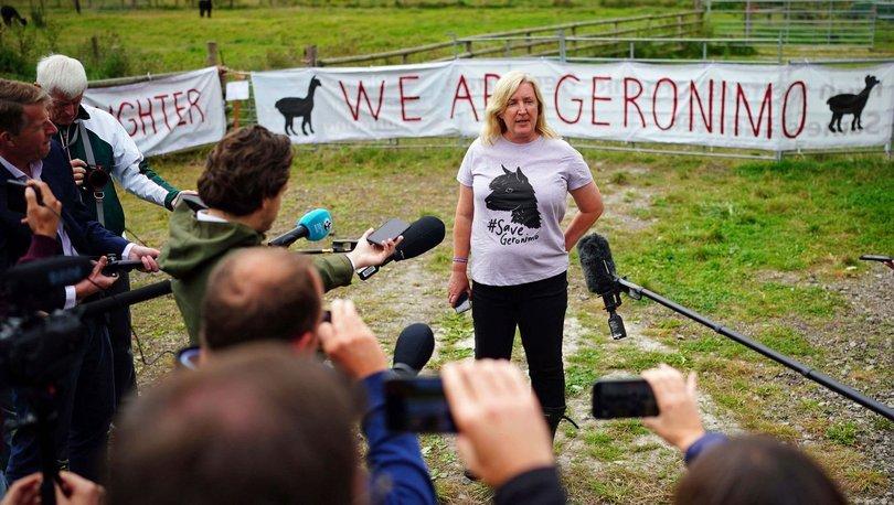 İngiltere'de Geronimo itlaf edildi!