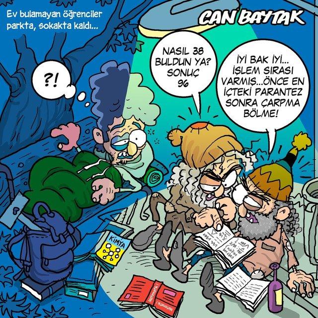 Can Baytak karikatürleri (Eylül 2021)