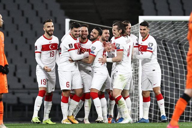 Millilerin 2022 FİFA Dünya Kupası heyecanı! Türkiye - Karadağ maçının muhtemel 11'i - Spor Haberleri