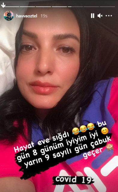 Aleyna Tilki'nin annesi Havva Öztel koronavirüse yakalandı - Magazin haberleri