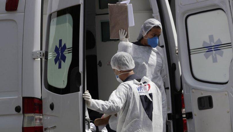 SON DAKİKA: Brezilya'da koronavirüs nedeniyle ölenlerin sayısı 580 bini aştı