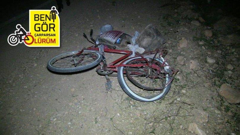 Son dakika: Otomobilin çarptığı bisikletli öldü - Haberler