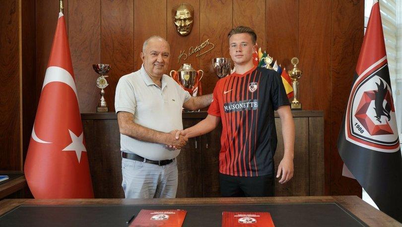 Gaziantep, Ukraynalı futbolcusu Kobylyanskyi'yi Union Titus Petange'ye kiraladı