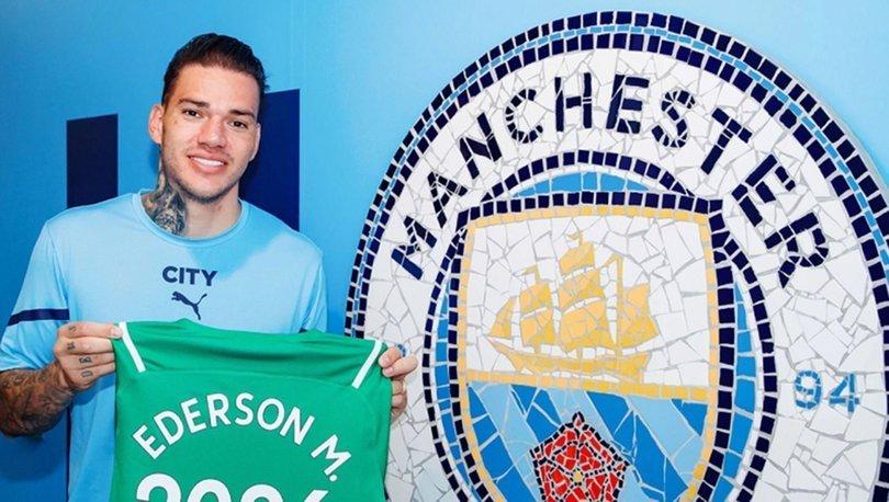 Manchester City, Ederson'la uzattı