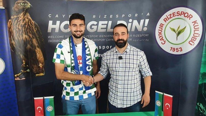 Çaykur Rizespor, gurbetçi futbolcu Deniz Hümmet'i renklerine bağladı