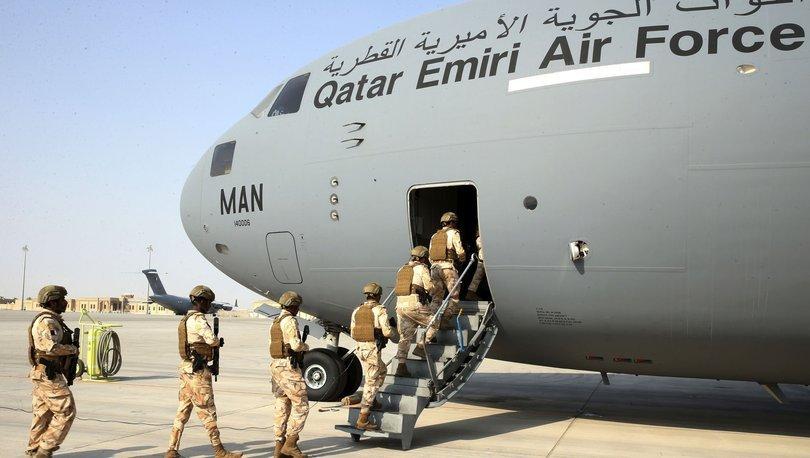 SON DAKİKA: Kabil Havalimanı'na  ''Katar'' uçağı indi
