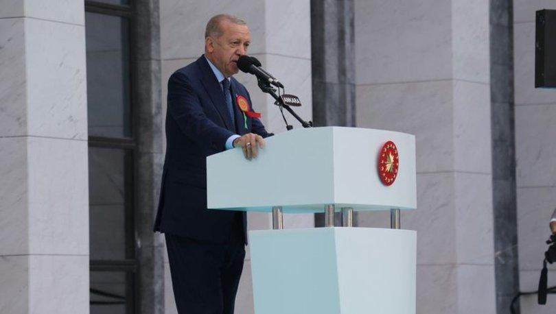 SON DAKİKA! Cumhurbaşkanı Erdoğan: En hızlı büyüyen ikinci ekonomiyiz