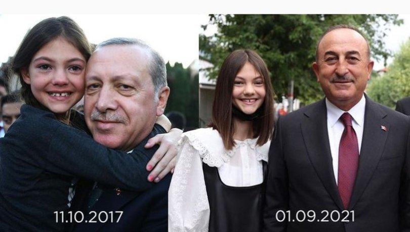 Yıllar sonra Dışişleri Bakanı Mevlüt Çavuşoğlu ile buluştu