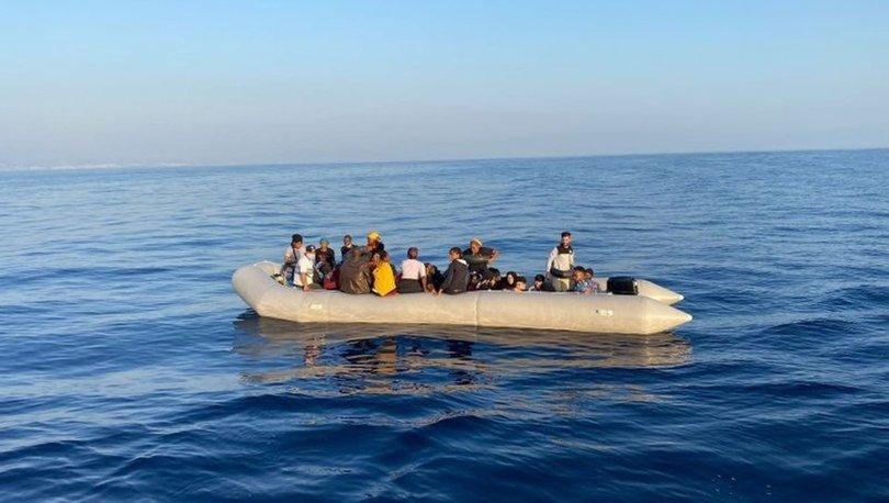 Türkiye'ye göçmen akını sürüyor! İzmir'de 172 göçmen kurtarıldı