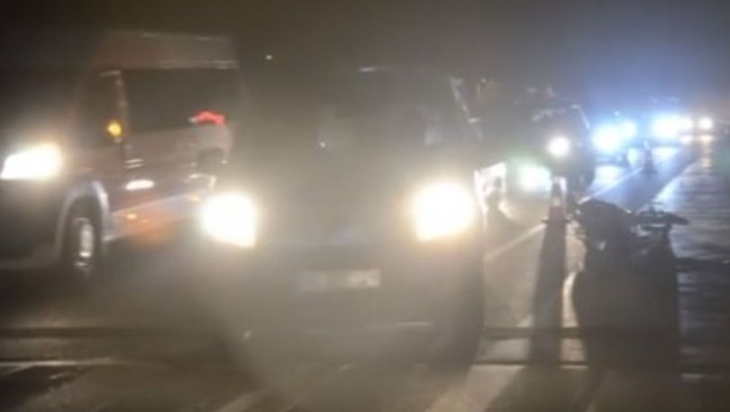 Aydın'da trafik kazası: Motosiklet sürücüsü hayatını kaybetti