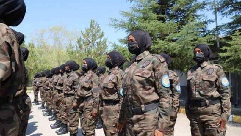 Türkiye'de eğitilen ilk Somalili kadın polis özel harekat ekibi, ülkelerine döndü