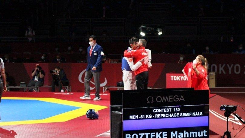 Son dakika haberi Tokyo'da bir madalya daha: Mahmut Bozteke...