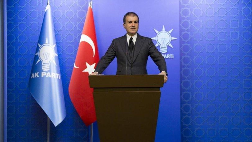 Son dakika! AK Parti Sözcüsü Ömer Çelik'ten Tanju Özcan'a tepki
