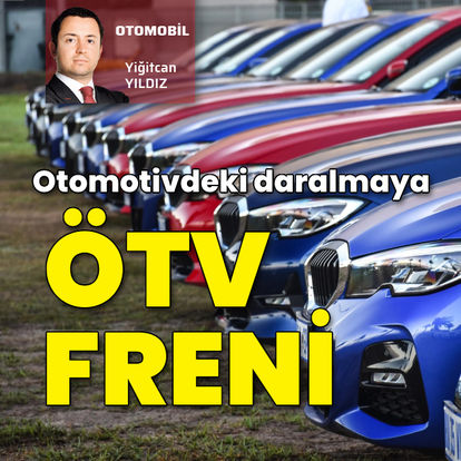 Otomotivdeki daralmaya ÖTV freni