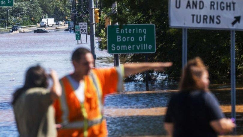 ABD'de İda Kasırgası'nın neden olduğu sellerde en az 45 kişi öldü