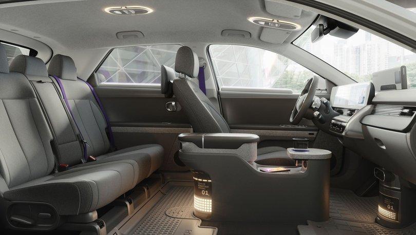 Hyundai'nin sürücüsüz taksisi ilk yolcusunu 2023'te alacak