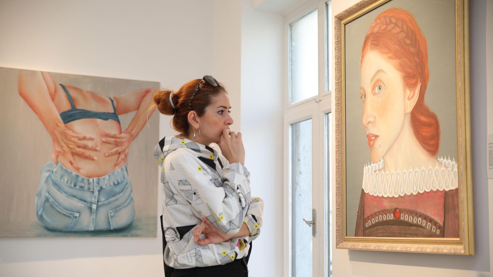 Genç sanatçı adaylarının 114 eseri BASE'de sergilenecek