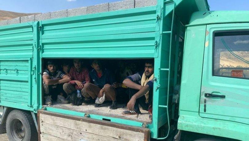 AFGAN İSTİLASI... Son dakika: Briket altında kaçak Afgan
