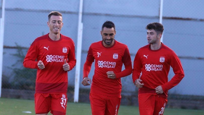 Sivasspor, Fenerbahçe maçının hazırlıklarına başladı
