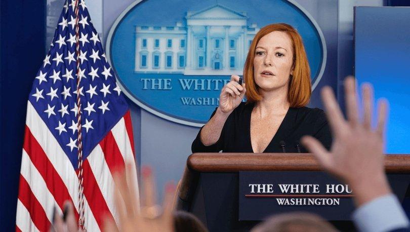 Beyaz Saray Sözcüsü Psaki: