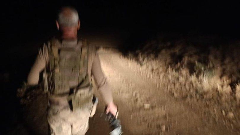 Kayıp hayvanlar, jandarmanın gece görüşlü termal kamerasıyla bulundu