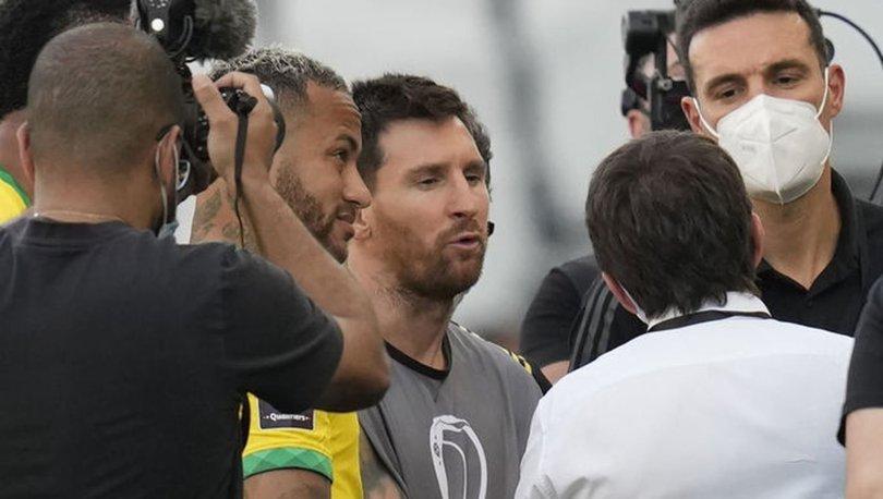 Brezilya - Arjantin maçında neler oldu, maç neden durdu?  Brezilya - Arjantin maçı ertelendi mi?