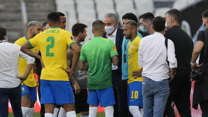 Son dakika | Brezilya - Arjantin maçında görülmemiş olay! Koronavirüs krizi