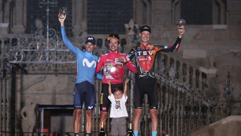 İspanya Bisiklet Turu'nda zafer Primoz Roglic'in